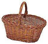 Garden Friend c1550200, cesta de mimbre Spaccato de setas