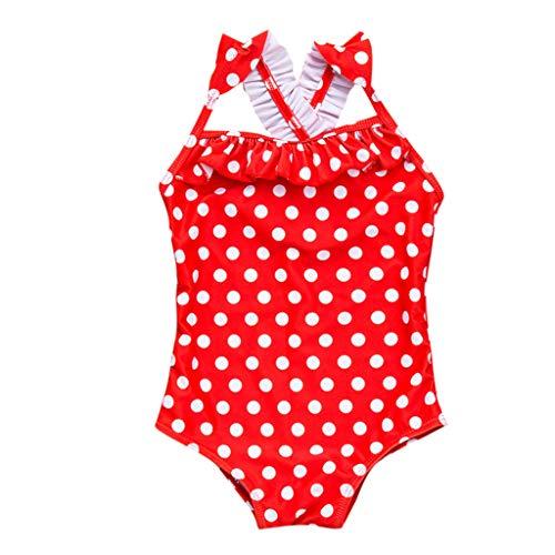 Mode Damen Fast Dry Pure Conservative Connected Bikini Badeanzug Ms. Volltonfarbe war dünn Abdeckung Bauch schnelltrockn Konservativ ausgefallenere Bikini Badeanzug Swimsuit swimanzug Swimwear (Alte Mode Badeanzüge)