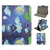 Universal 10 inch Tablet Cover,Universal Leather Stand Case Folio Cover Magic Leather Case for 10