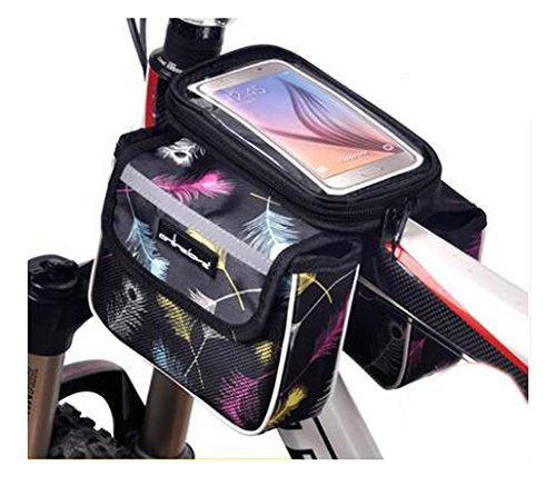 Bike Bag Bunte Fahrrad Lenker Pakete für 6 Zoll Telefon Multi-Funktions-Fahrrad-Zubehör#13