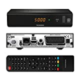 THOMSON THS816 HD Satelliten Receiver DVB-S2 ORF Digital Direkt +simpliTV SAT Full HD (HDTV, HDMI, SCART, USB, LAN) schwarz