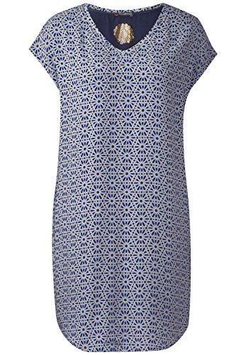 Street One Damen Grafik Print Kleid Ricarda Lapis Blue