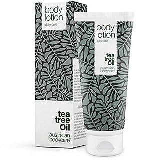 Australian Bodycare Body lotion - Körperlotion mit natürlichem Teebaumöl für trockene Haut. Body lotion gegen Pickel, schuppige Haut und Unreinheiten. 100% vegan und ohne Parabene (200 ml).