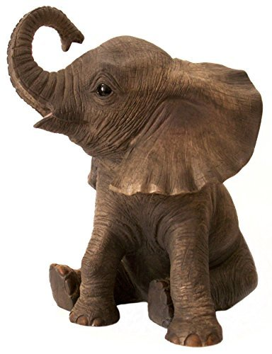 The Leonardo Collection 'Out Of Africa' - Figura de elefante africano joven...