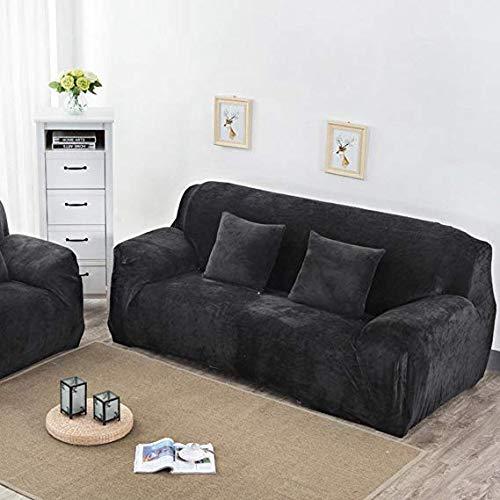 GFF Schonbezug Sofakissen/Plüsch/Sofabezug/Stretch-Sofa, schlicht und modern/solide/für 1,2,3,4 Kissen/Couch Bezug-Home Decoration M Loveseats, 8, Stuhl