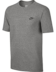 Nike M NSW Tee Club EMBRD FTRA – T-shirt à manches courtes pour homme