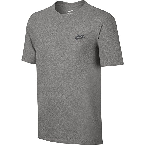 Nike Men s M Nsw Embrd Ftra Sportswear Club Embroidered Futura Tee 0d262d1b89dd