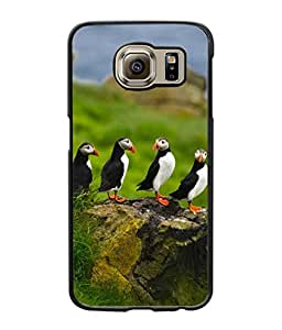Crazymonk Premium Digital Printed Back Cover For Samsung Galaxy S6 Edge