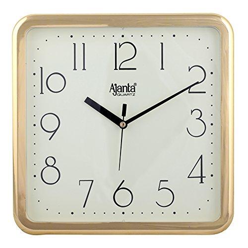 Ajanta Quartz Wall Clock Square Shape - 677 DX