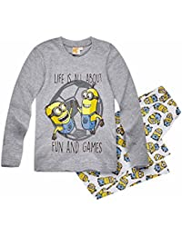 Minions Despicable Me Chicos Pijama 2016 Collection - Gris