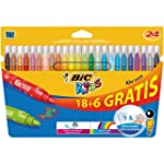 Bic Kids Kid Couleur Feutres ultra la...