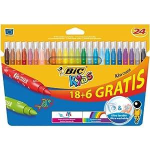Bic Kids - 841803 - Kid Couleur - Feutres - Assorties