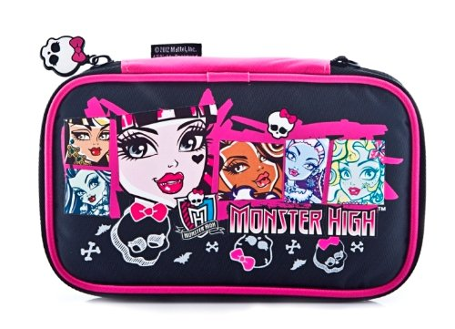 indeca cw-476 Monster High DS Bag Aufbewahrung Konsole kompatibel Nintendo 3DS XL