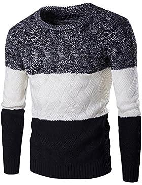 Suéter para Hombre con Manga Larga - Negro S