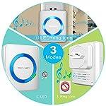 TeckNet-Campanelli-Wireless-Impermeabile-Senza-Fili-Portatile-Doorbell
