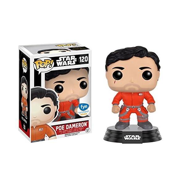 Funko Pop Poe Dameron con traje naranja (Star Wars 120) Funko Pop Star Wars