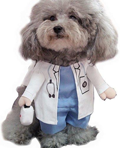 arkind Kostüm Zoohandlung Puppy Welpen Hunde katze 3D Kleidung Pirat Polizei Cowboy Kostüm Haustiere Cosplay Halloween