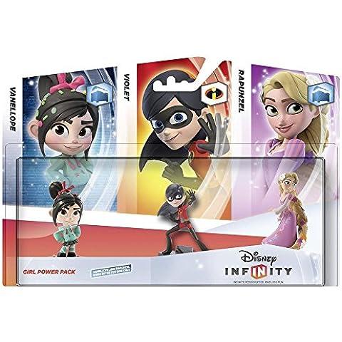 Disney Infinity -  Pack Figuras: Chicas (Vanellope, Violeta, Rapunzel)