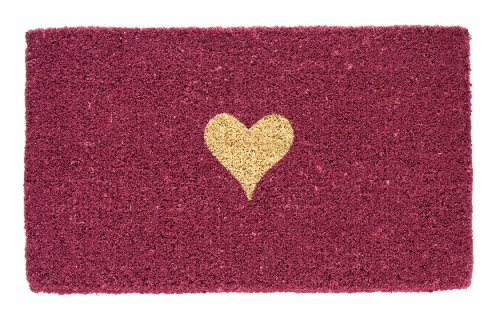 Gift Company 40099 Heart on pink, Fussmatte 44 x 74 cm -