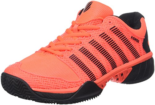 Herren Hypercourt Express HB Tennisschuhe, Orange (Neon Blaze/White/Black 30), 42 EU ()
