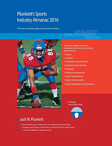Plunkett's Sports Industry Almanac 2016 (Plunkett's Industry Almanacs) por Jack W. Plunkett