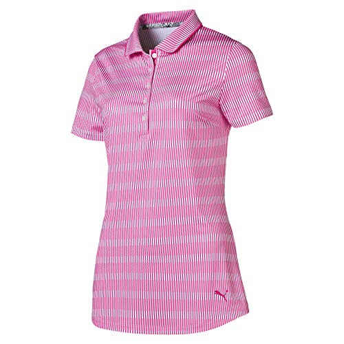 PUMA Polo de Golf Forward Tees pour Femme Fuchsia...