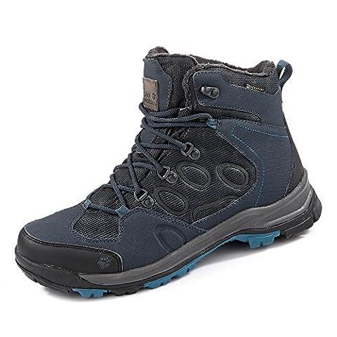 Jack Wolfskin Boots, Groesse 8,5, dunkelblau/schwarz