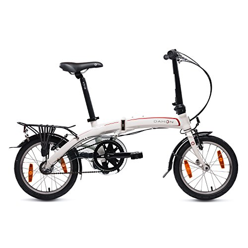 DAHON CURVE I3 MINI BICICLETA PLEGABLE  UNISEX ADULTO  BLANCO CLOUD  16