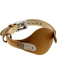 Fossil Uhrband Wechselarmband LB-ES3565 Original Ersatzband ES 3565 Uhrenarmband Leder 8 mm Braun