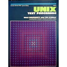 Unix Text Processing (Hayden Books UNIX library system) by Tim O'Reilly (1987-05-03)