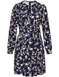 HALLHUBER Kleid mit Floral-Print A-Linie