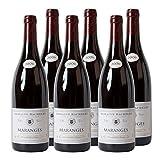 Maranges AC - Domaine Bachelet Bourgogne Rotwein Frankreich Burgund 2010 trocken (6 x 0.75 l)
