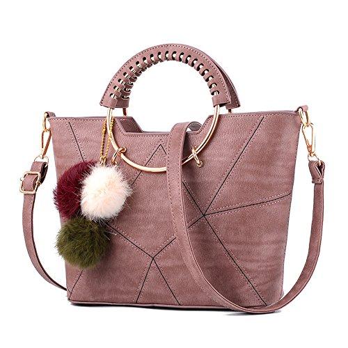 Sprnb Sommer Mädchen Mode Freizeit Tasche Neue Persönlichkeit Schulter Messenger Bag Alle Weiblichen - Match Pink