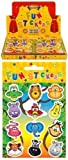 72 x Jungle Animal Sticker Sheets