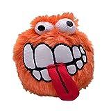 Rogz CGR05-D Grinz Plush/Wurfspielzeug, L, orange
