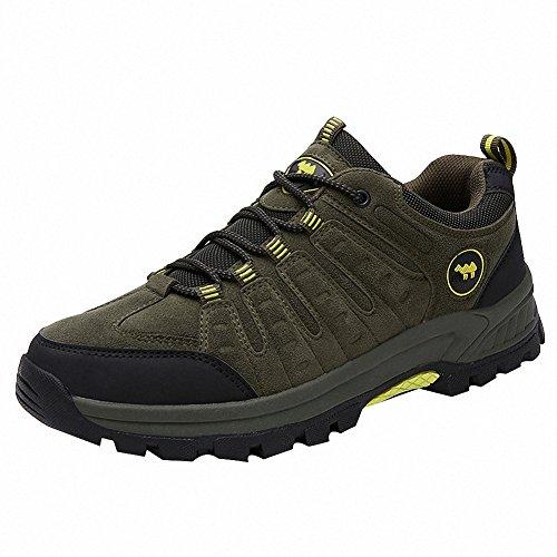 Ben Sports Scarpe da escursionismo Stivali Calzature da escursionismo Uomo,39-46 verde