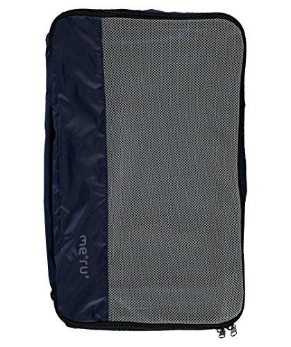 Meru Utensilientasche/Kleider- und Schuhbeutel Travel Stuffbag Set marine (300) 0
