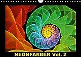 Neonfarben Vol. 2 / CH-Version (Wandkalender 2018 DIN A4 quer): Ein Fraktalkunstkalender für junge und junggebliebene Leute (Monatskalender, 14 Seiten ... Kunst) [Kalender] [Apr 01, 2017] Art, gabiw