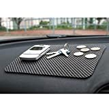 #10: B to B Traders Car Dashboard Anti-Slip Mat - Black Colour for All Cars