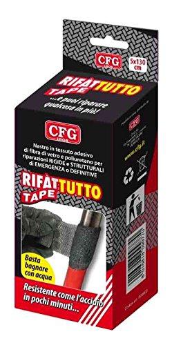 Rifàttutto Tape morbido nastro di tessuto di fibra di vetro, imbevuto di resina poliuretanica monocomponente che indurisce con l'umidità