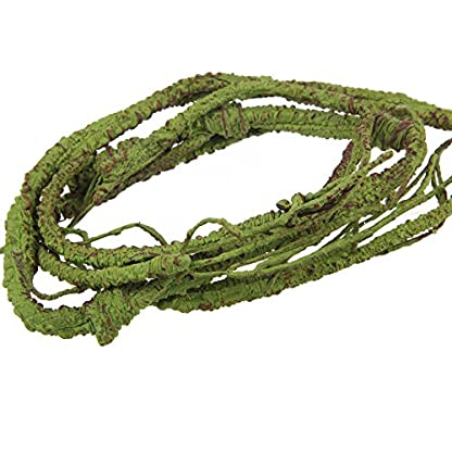 emours Flexible Bend-A-Branch Jungle Vines Pet Habitat Decor for Lizard,Frogs, Snakes and More Reptiles,Small, 3.2ft… 3
