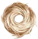 Love Hair Extensions Kunsthaar-Haargummi Tornado, Beige Blonde/Beach Blonde