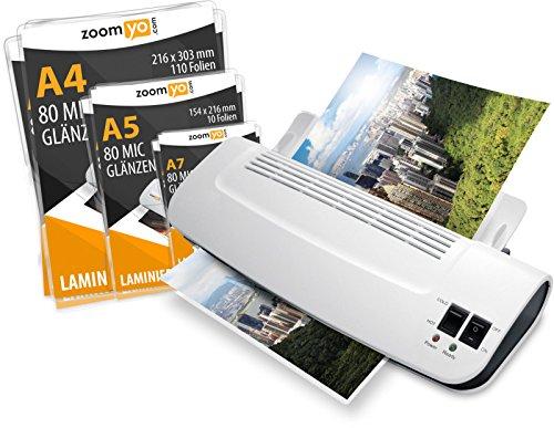 zoomyo Plastifieuse A4 OL289 pour une utilisation à la maison ou au...