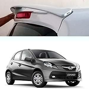 Auto Pearl - Premium Quality Car Body Colored Spoiler - Honda Brio - Urban Titanium