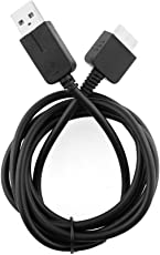 Foxmicro PSVICAB PS Vita USB Cable Charging Cable Data Transfer Cable for PS Vita (Black)