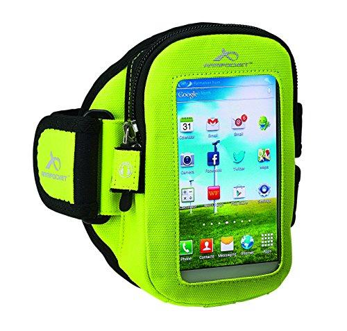 Armpocket Xtreme i-30 für Samsung Galaxy S3 / S4, iPhone 5S / 5C, Otterbox cases und Akku packs (M (Armumfang 25-38cm), Yellow) (Otterbox Case Iphone 5c)