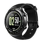 Diggro DI07 Smartwatch RAM 512MB ROM 8GB 3G incorporado Nano SIM WIFI Android 5.1 Bluetooth 4.0 MTK6580 1.1GHz Quad Core Procesador y Smart Band Dual modo GPS Monitor de ritmo cardíaco Pedometer Mensaje de llamada Recordatorio saludable para IOS y Android (verde)