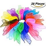 28 Pezzi Sciarpe Danza Seta Juggling Sciarpe B - Best Reviews Guide