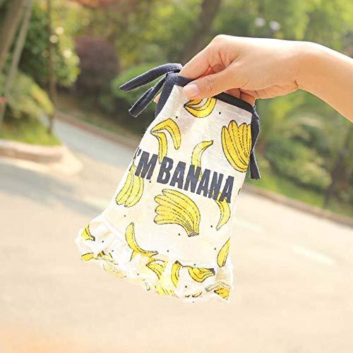 lipanpan Summer Dog Couple Clothes Pet Clothing Spring and Summer Thin Vest Tedibome Cute Banana Skirt