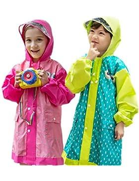 Tokkids - Impermeabile bambino pioggia, Antipioggia per bambini, Raincoat bambino, leggero e resistente, 3 - 12...